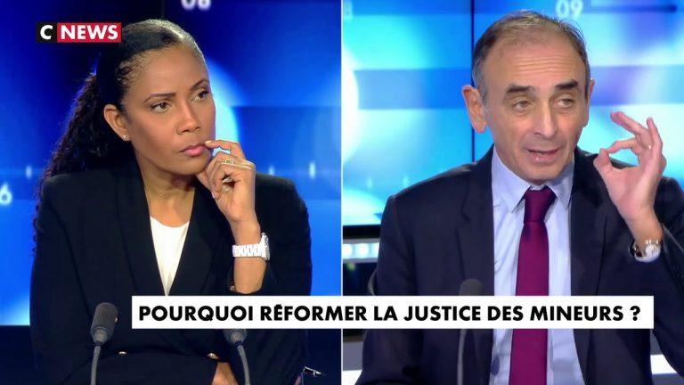 Eric Zemmour : « Les mineurs délinquants mènent une guerre de conquête en chassant les Français des banlieues »