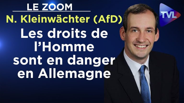 Norbert Kleinwächter (AfD) : « Les droits de l'Homme sont en danger en Allemagne »