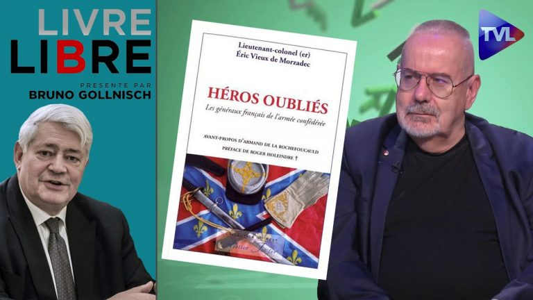 Guerre de Sécession : Des Français du côté des confédérés. Livre-Libre avec Eric Vieux de Morzadec