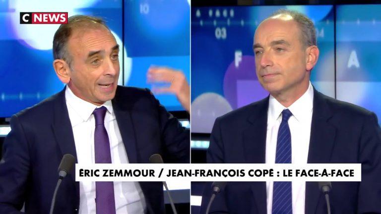 Eric Zemmour face à Jean-François Copé : « Vous avez trahi les électeurs qui vous croyaient de droite »