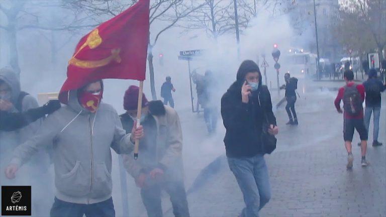 Rennes. Reportage vidéo sur la Manifestation contre la loi sécurité globale
