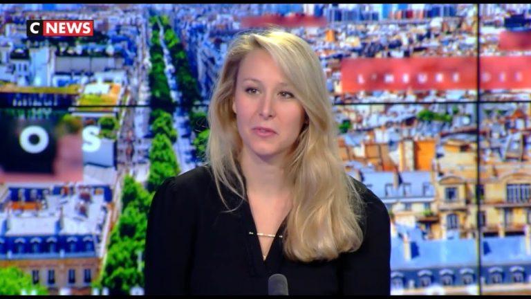 Marion Maréchal : « Un petit blanc en jogging-casquette à Clichy a dix fois plus de chance de se faire contrôler qu'un Français noir en mocassins et Barbour »