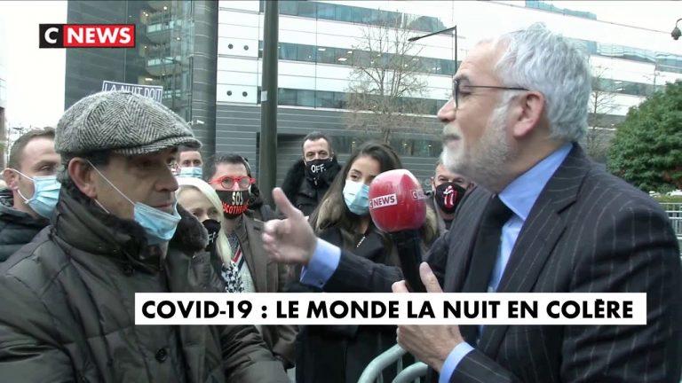 Pascal Praud quitte le plateau pour rencontrer des patrons de discothèques devant CNEWS
