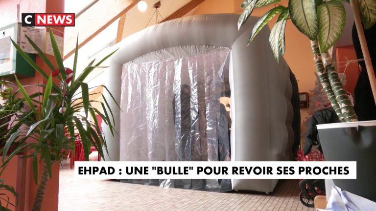 Tyrannie sanitaire. Comme dans un Zoo, cet Ehpad propose une «bulle» pour revoir ses proches