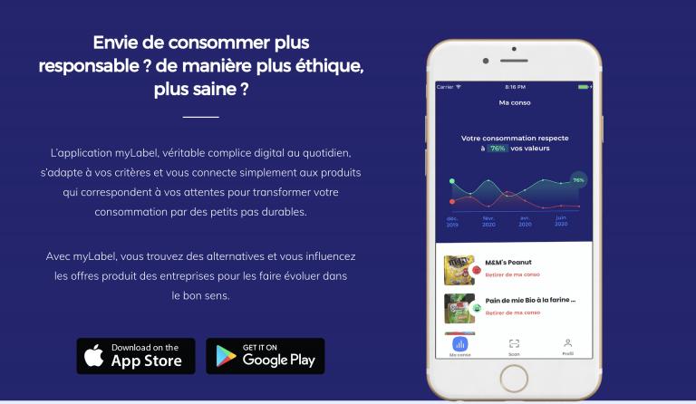 MyLabel. Une application pour vérifier l'éthique ou la qualité de vos achats en ligne