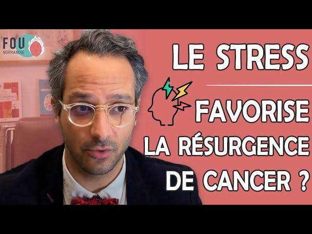 Le stress peut-il favoriser la résurgence de cancer ? Une étude fascinante et pleine d'espoir !