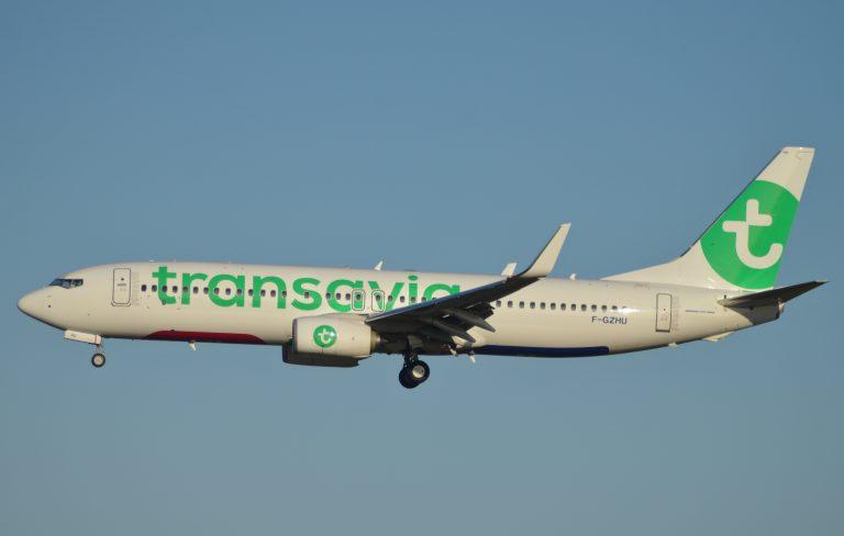 En février et mars 2021, Transavia maintiendra ses vols au départ de Brest et Rennes