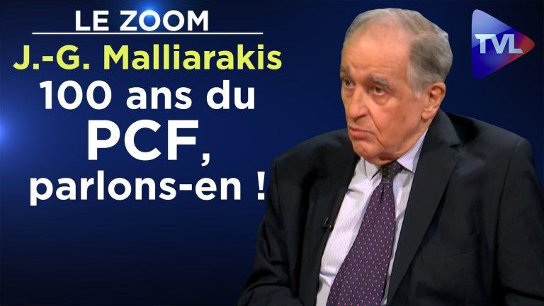 Jean-Gilles Malliarakis : 100 ans du PCF, parlons-en !