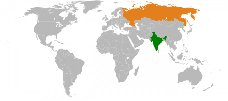 Géopolitique. Les relations entre l'Inde et la Russie se développent