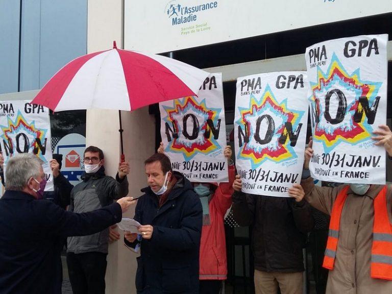 Nantes. Un rassemblement contre la PMA devant l'Assurance Maladie