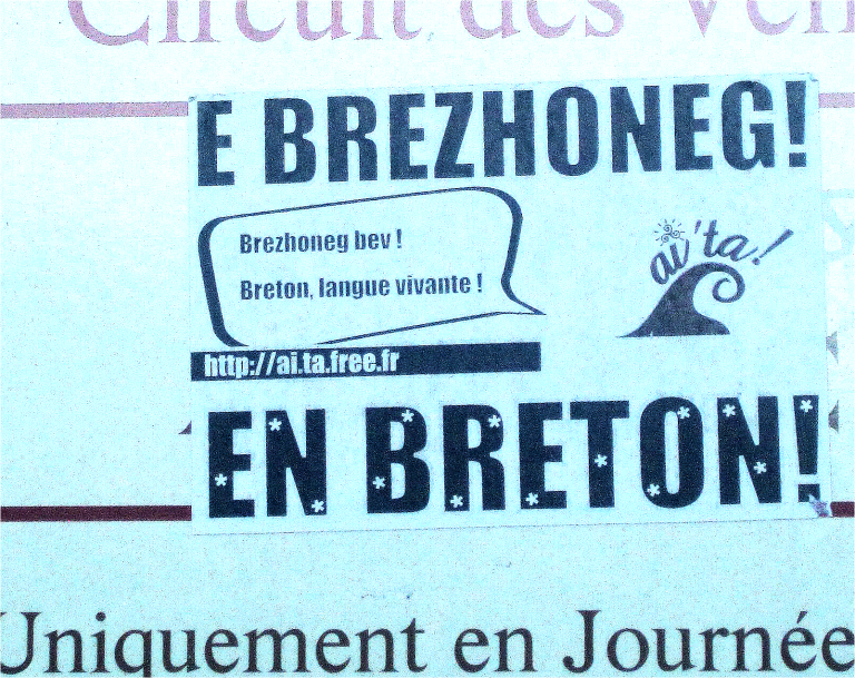 Hennebont, Quimper. Des stages de Breton en février