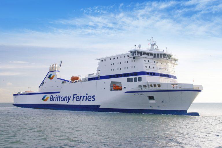 Fret. Le Cotentin de retour dans la flotte Brittany Ferries