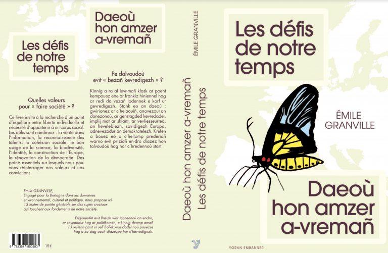 Emile Granville : « J'ai écrit ce livre dans l'espoir d'avoir à terme une refondation du mouvement breton » [Interview]