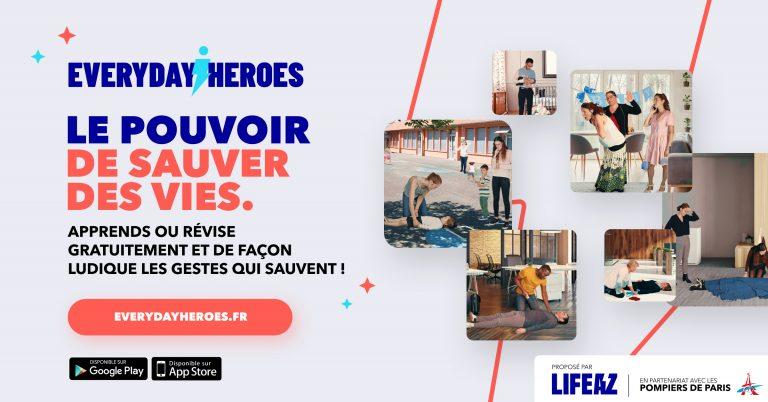 Everyday Heroes. Une campagne de sensibilisation aux gestes qui sauvent via un jeu concours