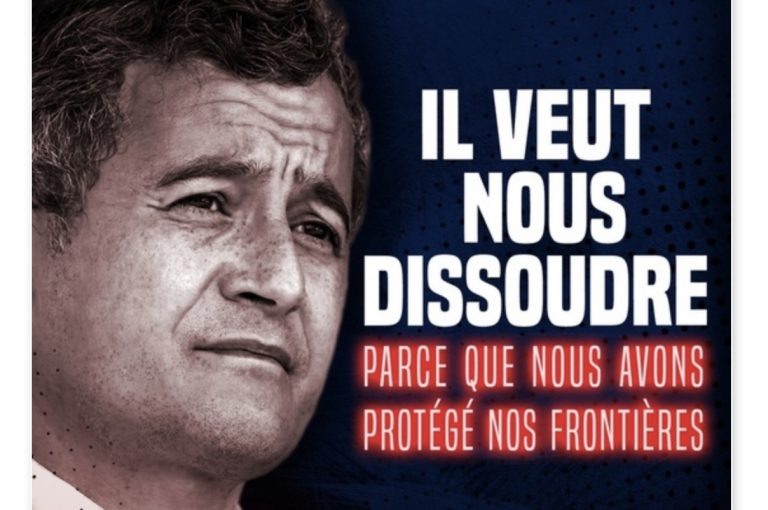Défendre pacifiquement son pays, un crime ? Gérald Darmanin engage la dissolution de Génération Identitaire