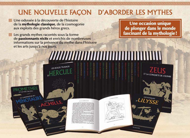 Mythologie. Les fascinantes aventures des Dieux et héros grecs, dans une superbe collection