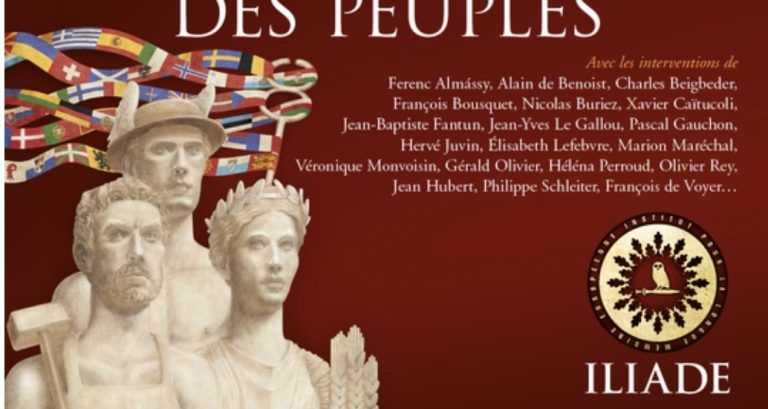 Colloque Iliade 2021 à Paris. Au-delà du marché, l'économie au service des peuples