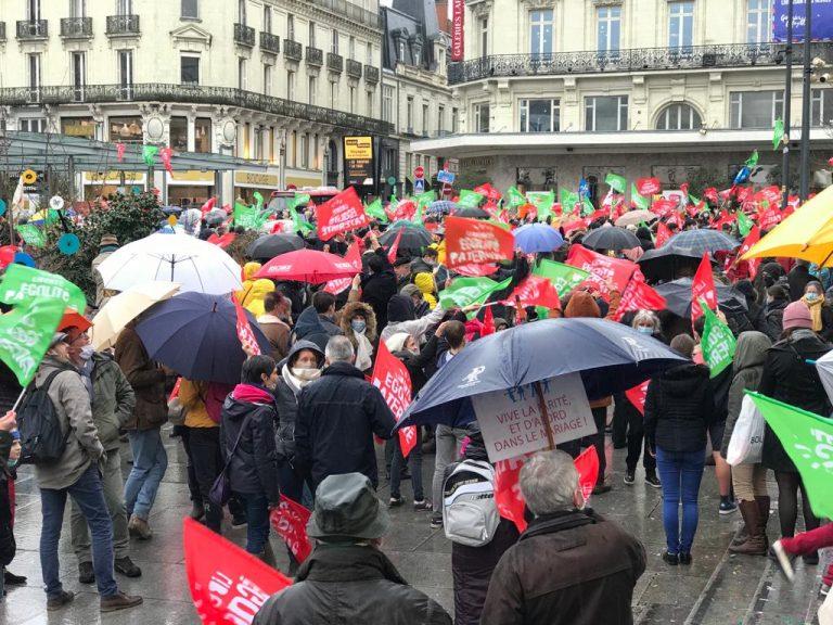 Angers. Un millier de personnes ont manifesté pacifiquement contre la PMA sans père et la GPA