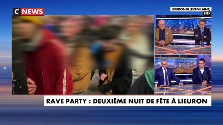 Rave Party : deuxième nuit de fête à Lieuron (35)