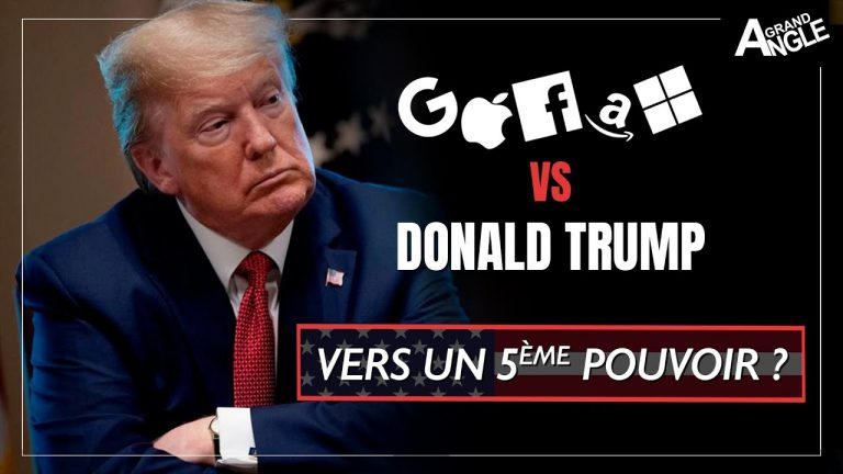 Les GAFAM contre Donald Trump : vers un cinquième pouvoir américain ?
