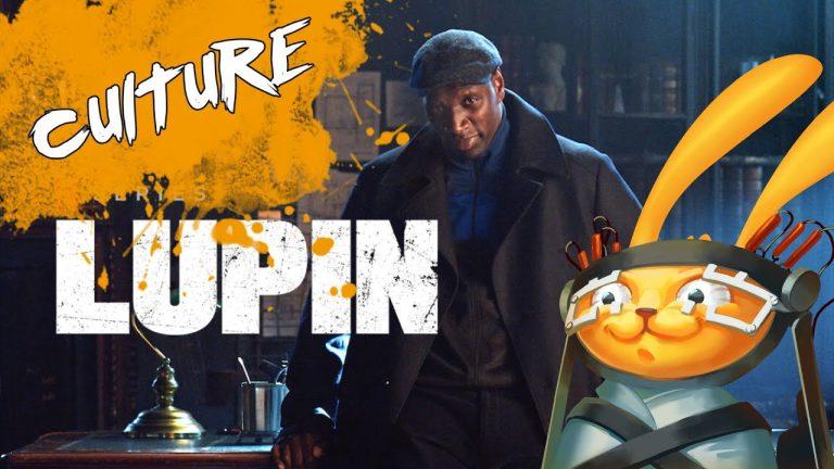 Lapin du Futur atomise Lupin et Omar Sy