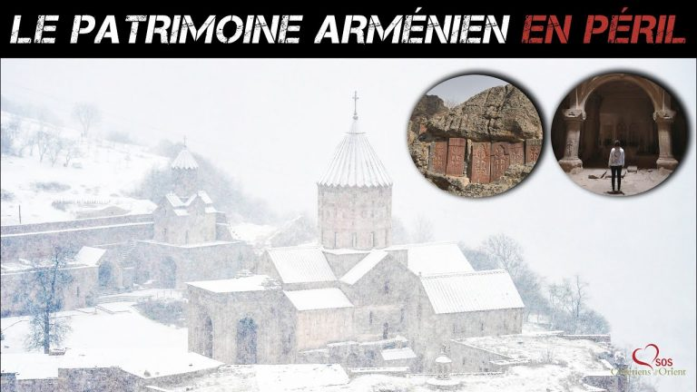 Arménie. Le patrimoine arménien en péril
