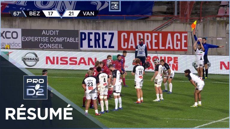 Nouvelle victoire pour le RC Vannes, à Béziers, avec la manière (24-42)