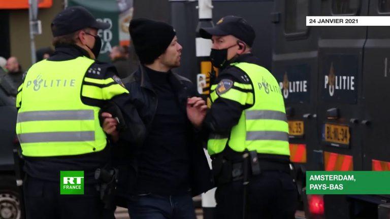 Pays-Bas. Les images de la violente répression policière vis à vis des manifestants anti couvre-feu