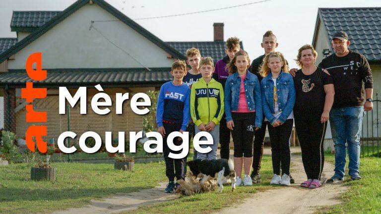 Mère courage, une famille nombreuse en Pologne
