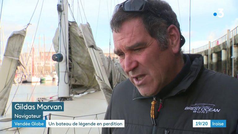 Brest : un bateau de légende en perdition