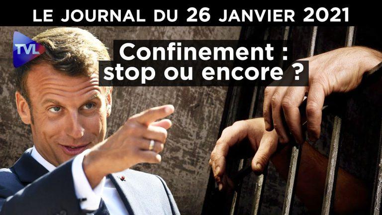 Reconfinement : la révolte gronde (JT TV Libertés)