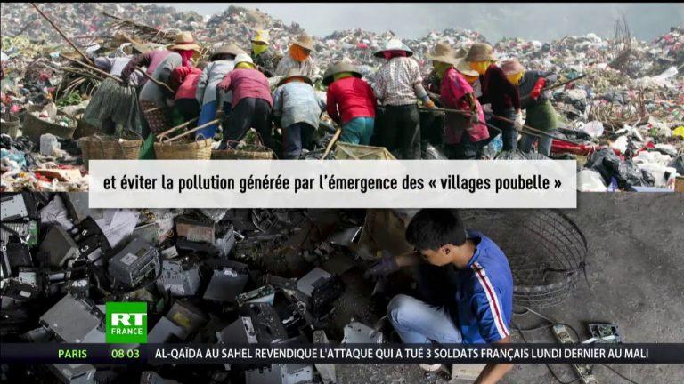 La Chine ferme ses portes aux déchets en provenance du reste du monde