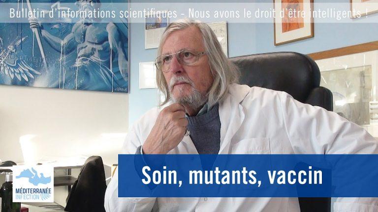 Covid-19. Soin, mutants, vaccin, avec le Professeur Raoult