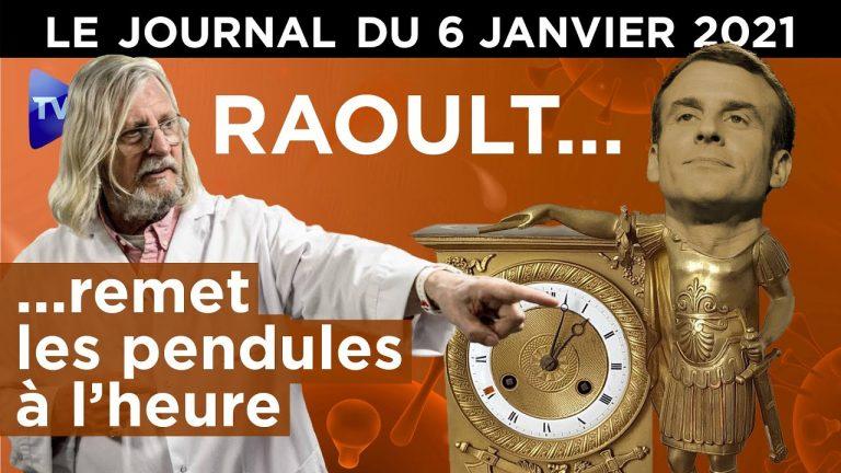 Covid, variant, vaccin : ce que dit le Pr Raoult