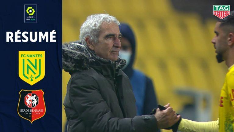 Un nul entre le FC Nantes et le Stade Rennais, victoire de Brest, défaite du FC Lorient