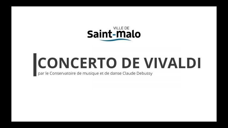 Saint-Malo. Concerto de Vivaldi
