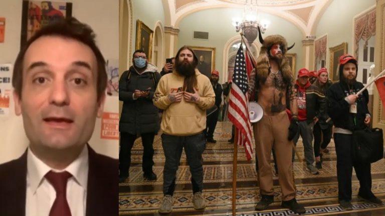 Florian Philippot : « Le chaos au Capitole, c'est l'explosion de plusieurs années de mépris ! »