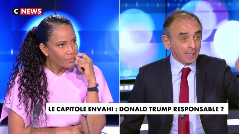 Eric Zemmour : « Les vraies menaces pour la démocratie sont Facebook et Twitter, pas Davy Crockett ! (…) La prise du Capitole est une révolte populaire, pas un putsch »