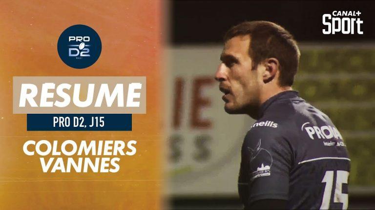 Rugby. Mené 16-3, le RC Vannes s'impose finalement 19-20 à Colomiers