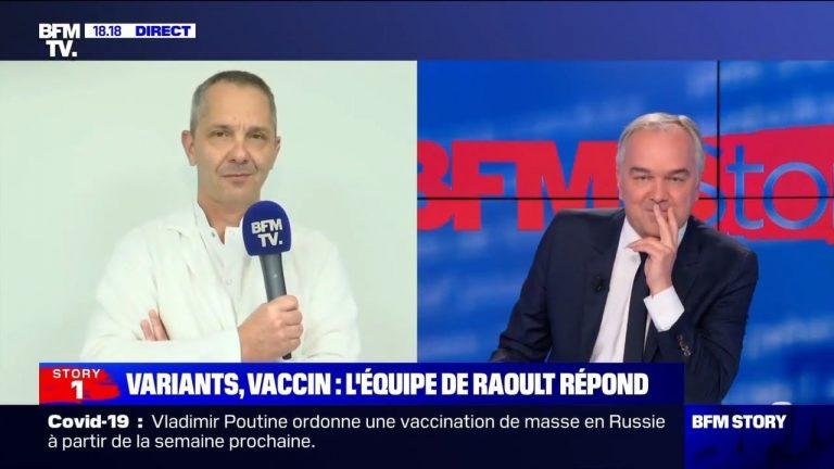 Le Pr. Philippe Parola remet les choses à leur place face aux journalistes de BFMTV