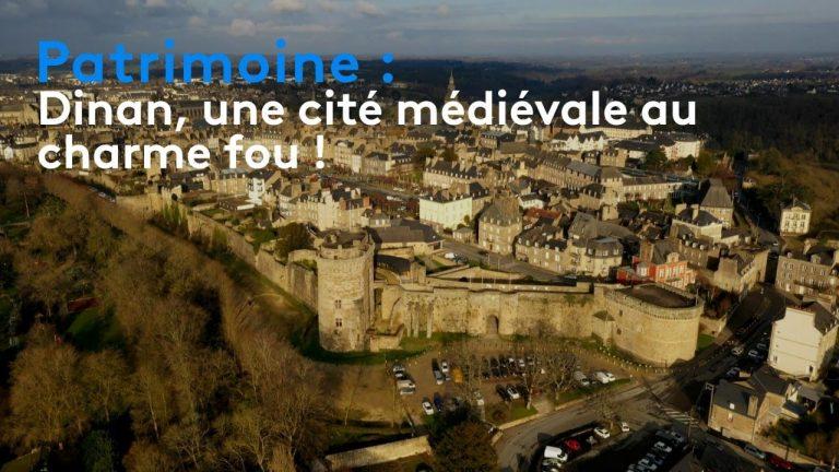 Patrimoine : Dinan, une cité médiévale au charme fou !