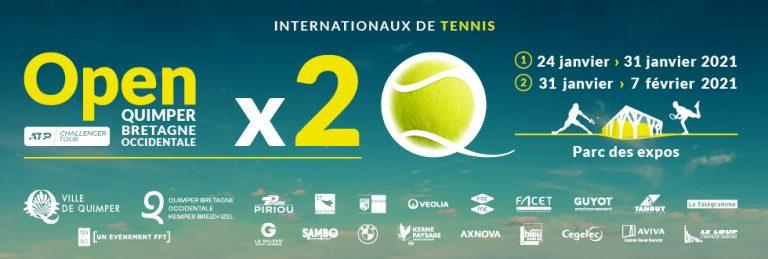Les demi-finales et la finale de l'Open de Tennis de Quimper seront diffusées ce week-end sur FFT TV