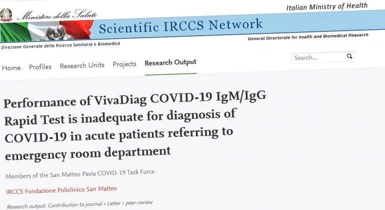 Retrait d'un test de dépistage du covid-19: la France encore une fois à contre-pied
