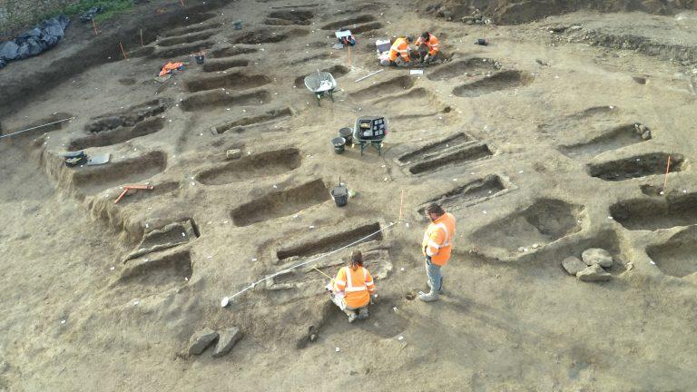 Un cimetière mérovingien découvert à Mortagne-sur-Sèvre (Vendée)