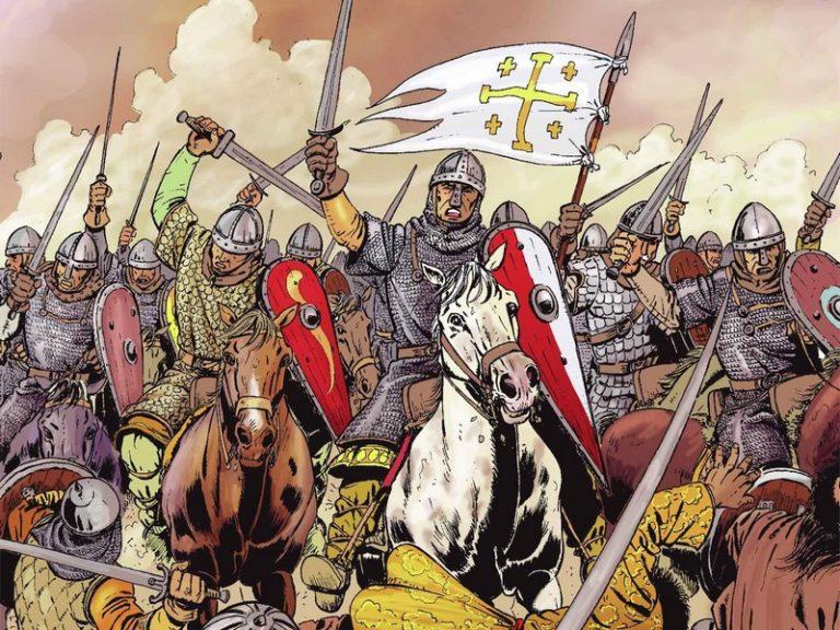 « Avec les Croisés », la bande dessinée qui exalte l'esprit des croisades