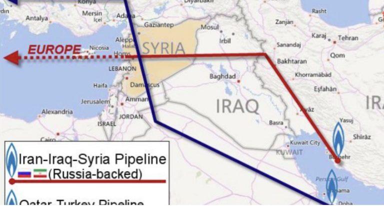 La Syrie relance le projet de pipeline pour le gaz iranien afin d'atteindre les marchés européens