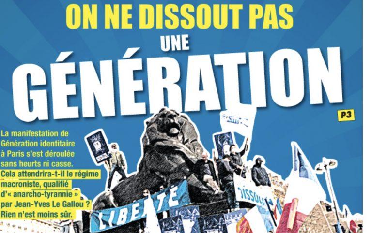« On ne dissout pas une génération »