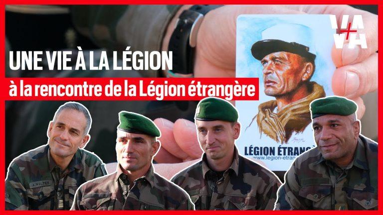 Une vie à la légion étrangère. Reportage