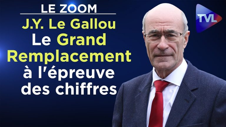 Le Grand Remplacement à l'épreuve des chiffres par Jean-Yves Le Gallou