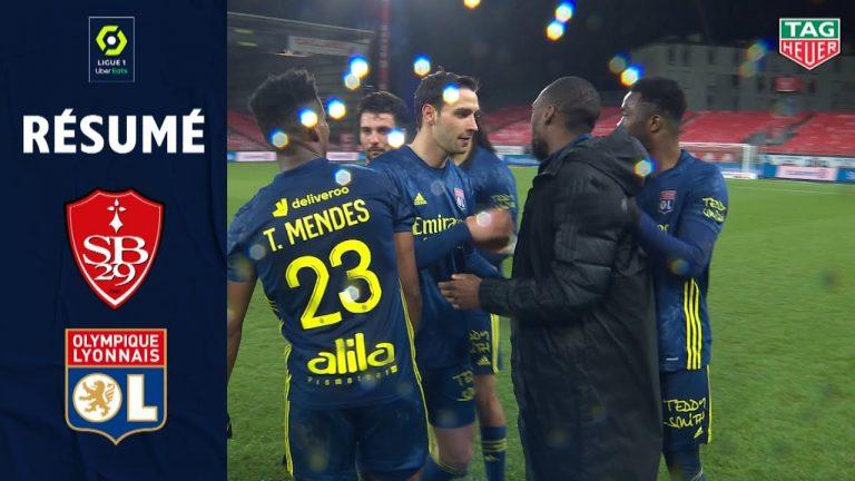 Ligue 1 (football). Défaites du Stade Rennais, du FC Lorient et du Stade Brestois, nul de Nantes